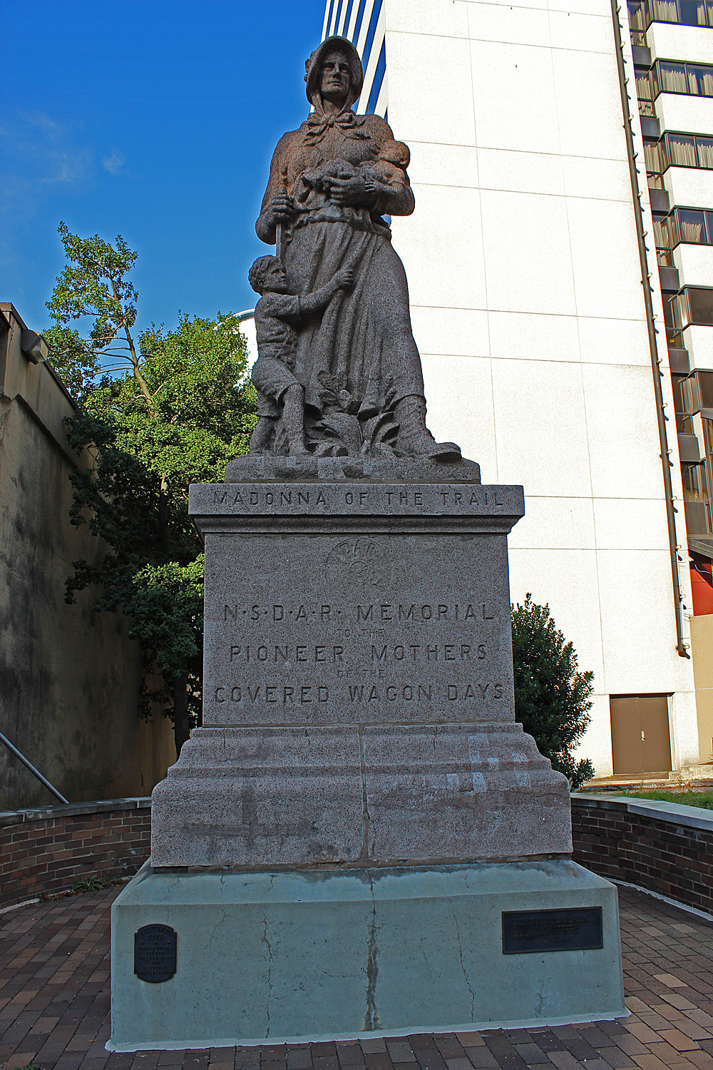 August Leimbach, Madonna of the Trail, Bethesda, Maryland