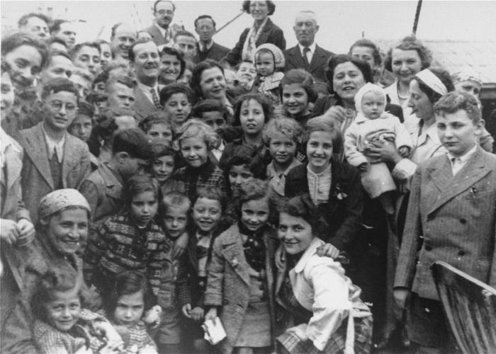 The MS St Louis carried 937 Jewish refugees from Nazi Germany who sought asylum in Cuba or the United States.
