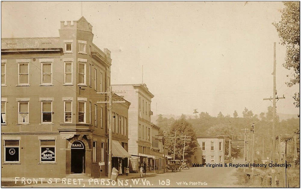 The Tucker County Bank in 1911