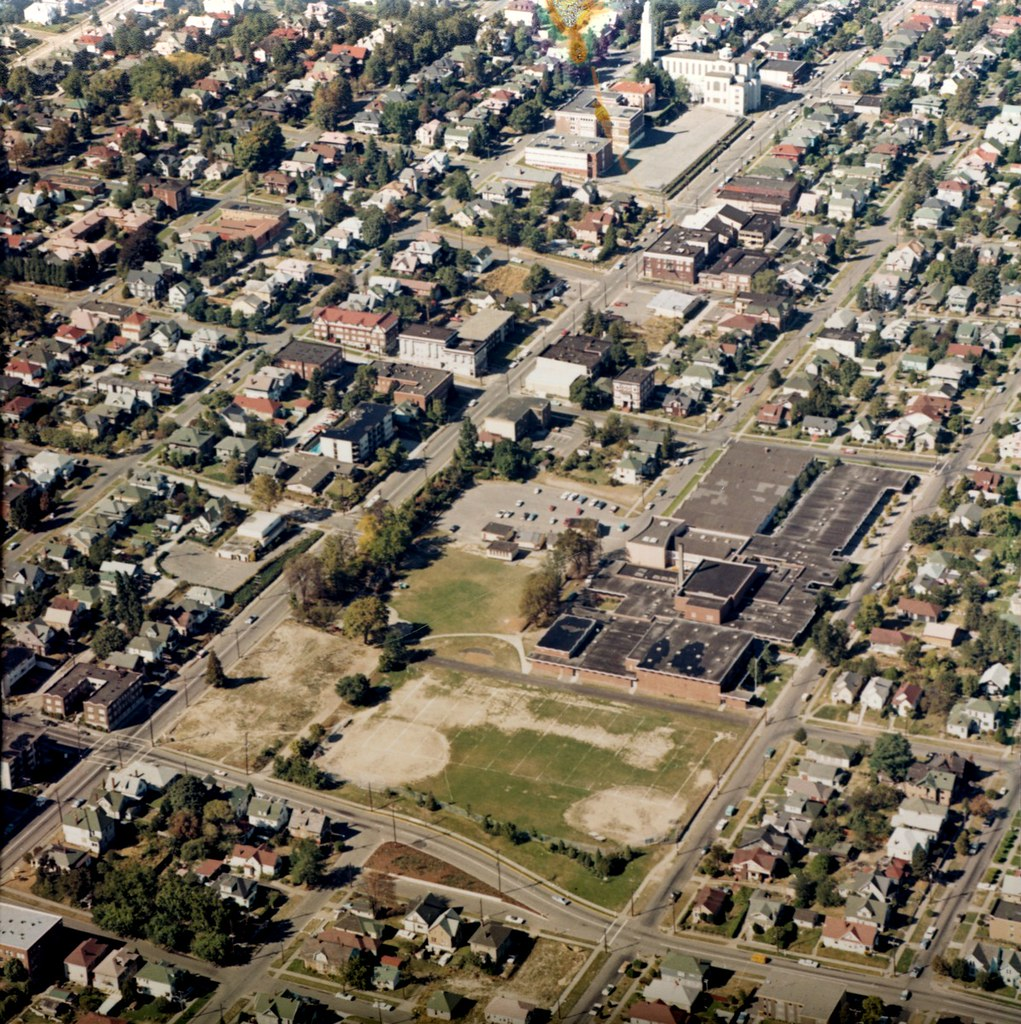 Aerial of Capital Hill, 1970