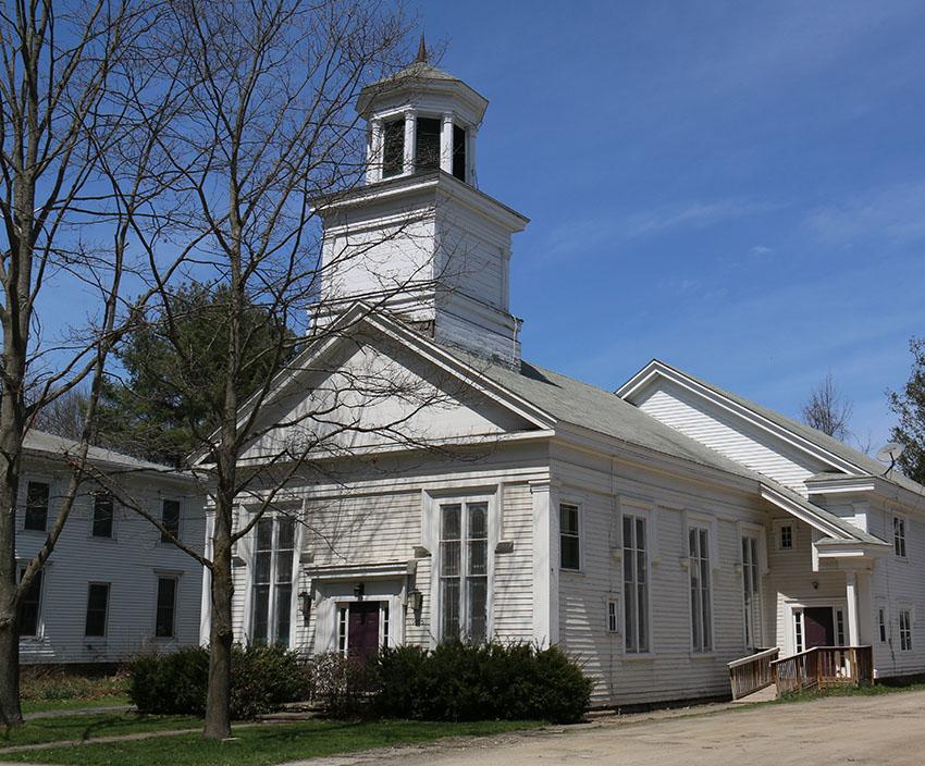 Lisle Methodist Episcopal Church, later Associated Church