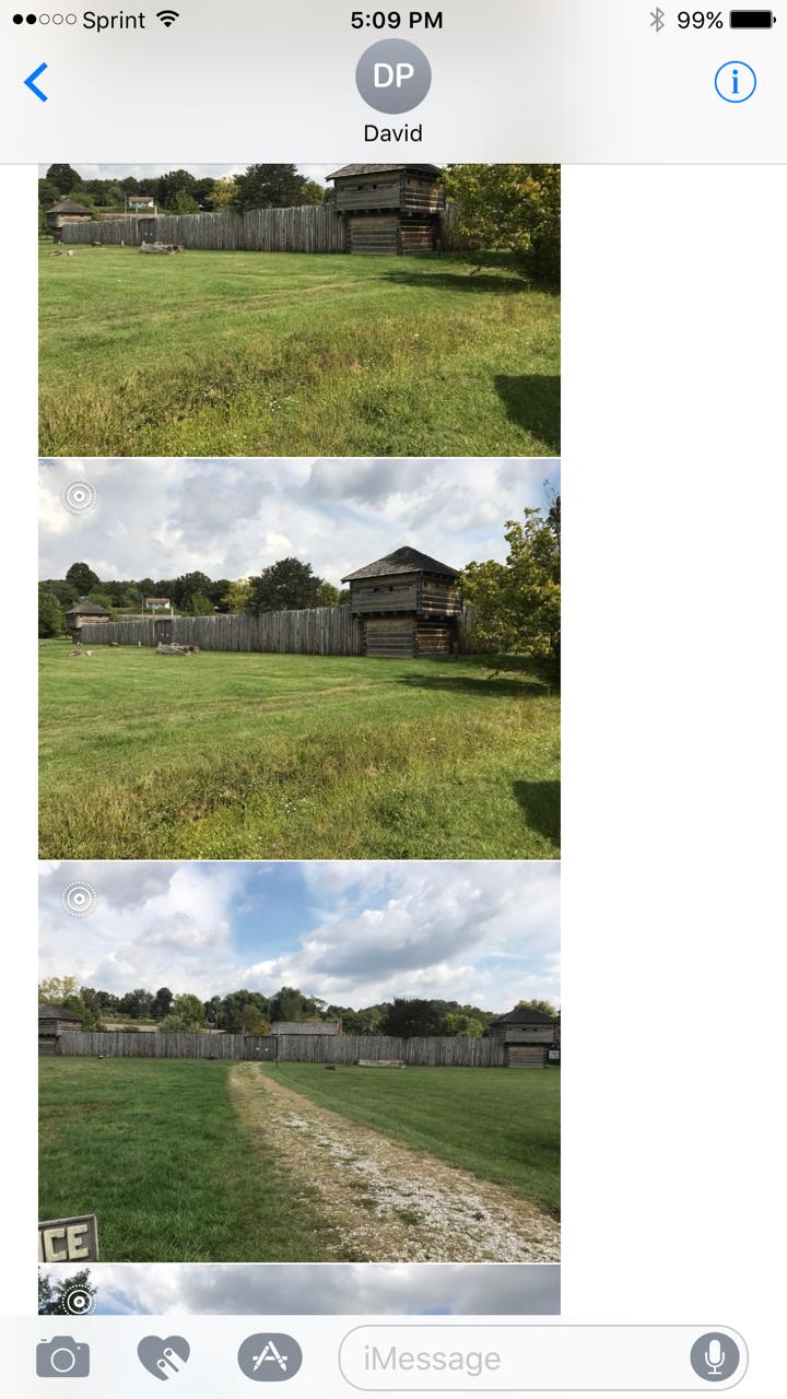 Differ views of Fort Randolph
