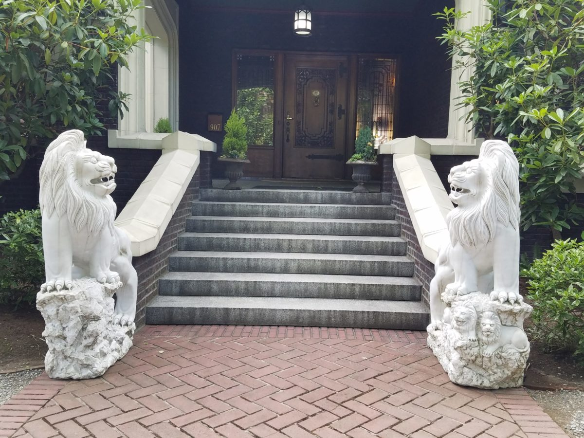 Shafer-Baillie Mansion Entry