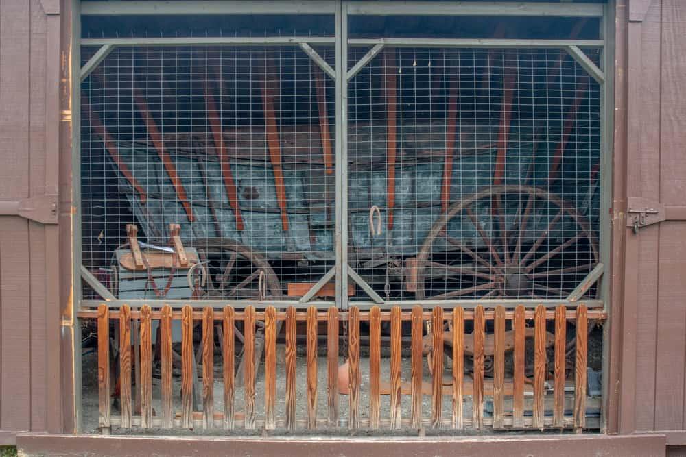 Conestoga Wagon Shed