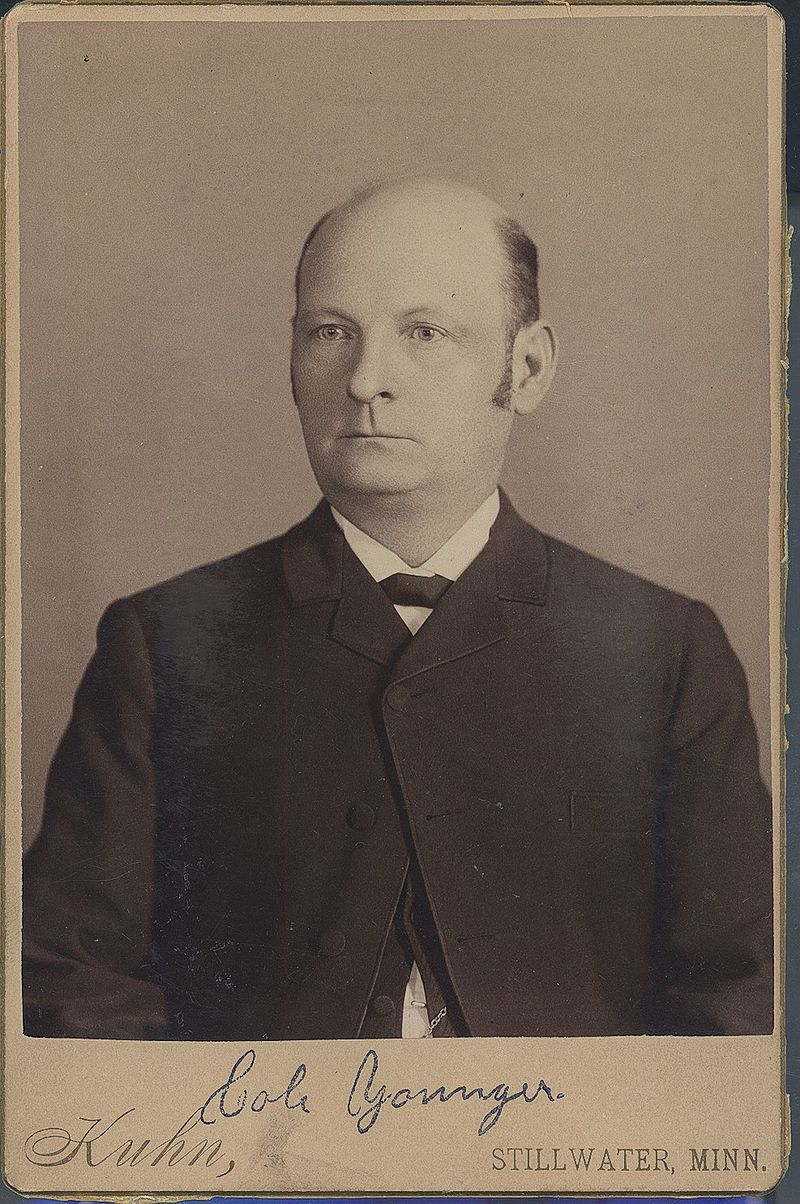 Cole Younger, circa 1889