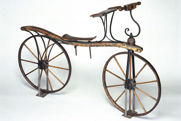 The first ever bicycle.