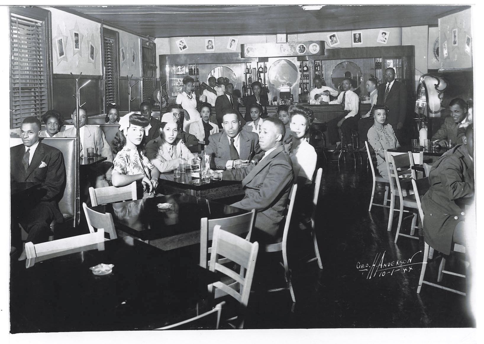 The Del Morocco Club, 1944