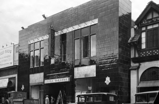 The Little Theatre photographed after its opening in 1929