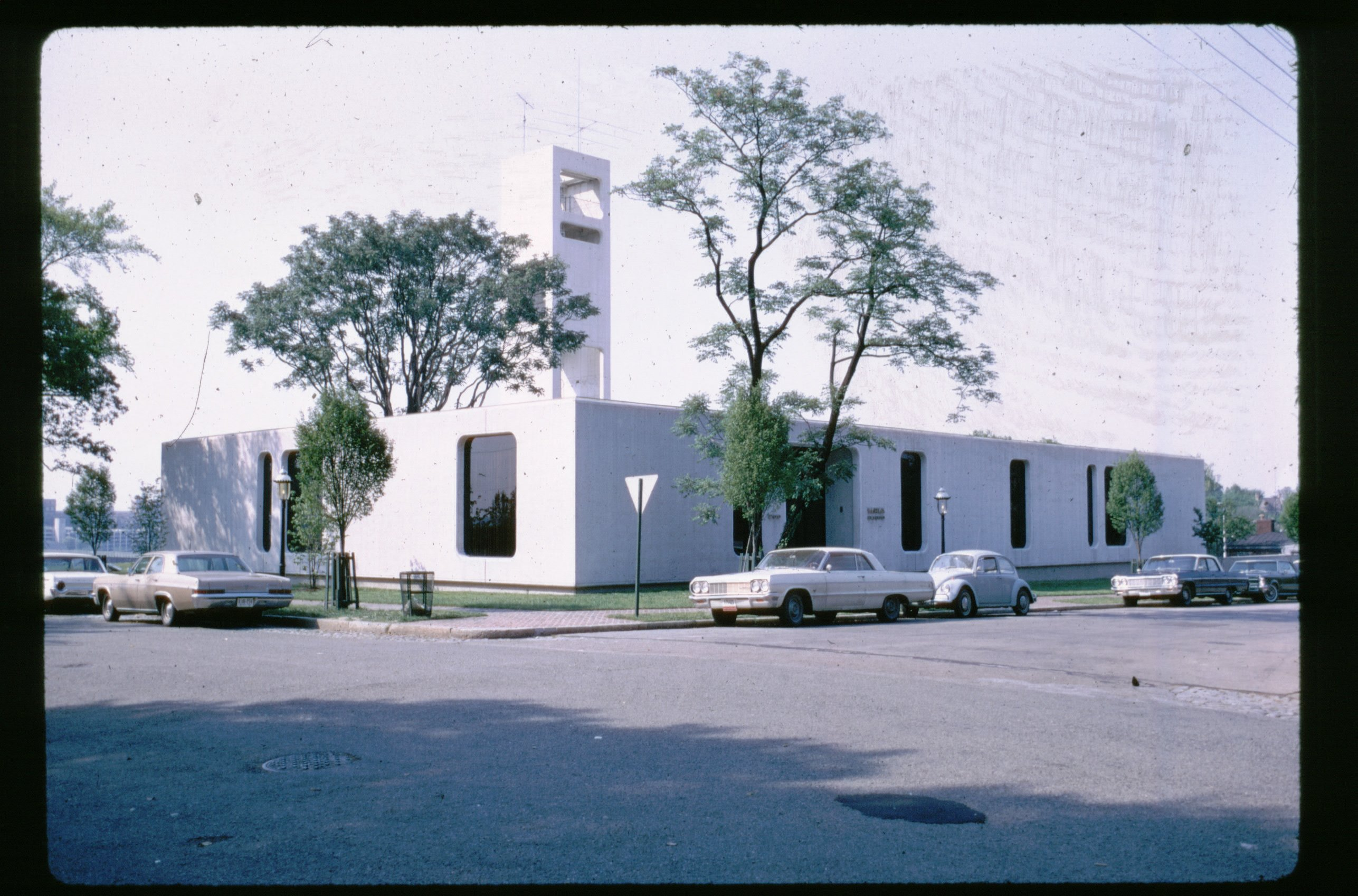 ChildSavers' WRVA Building in 1968. Photograph by Lou Dean, former on-air reporter and personality for WRVA.