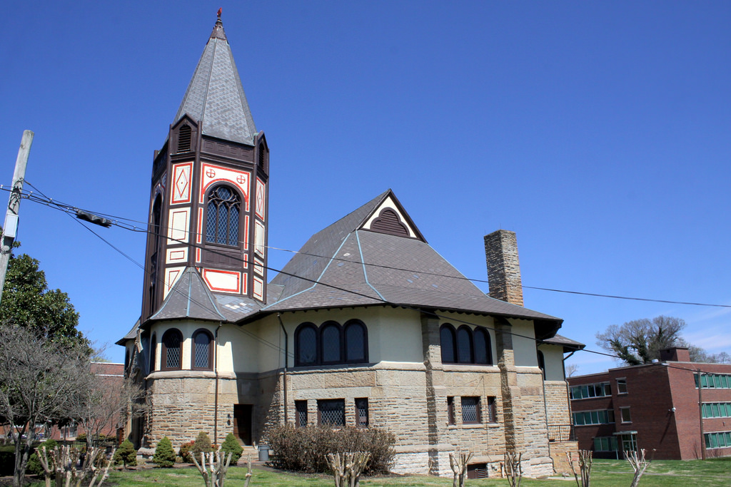 Fisk Chapel was completed in 1892 and restored for its centennial through a Congressional appropriation.
