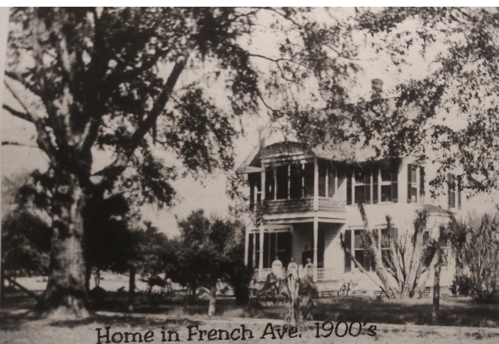 Green Gables, c 1900. Photo courtesy West Volusia Historical Society.