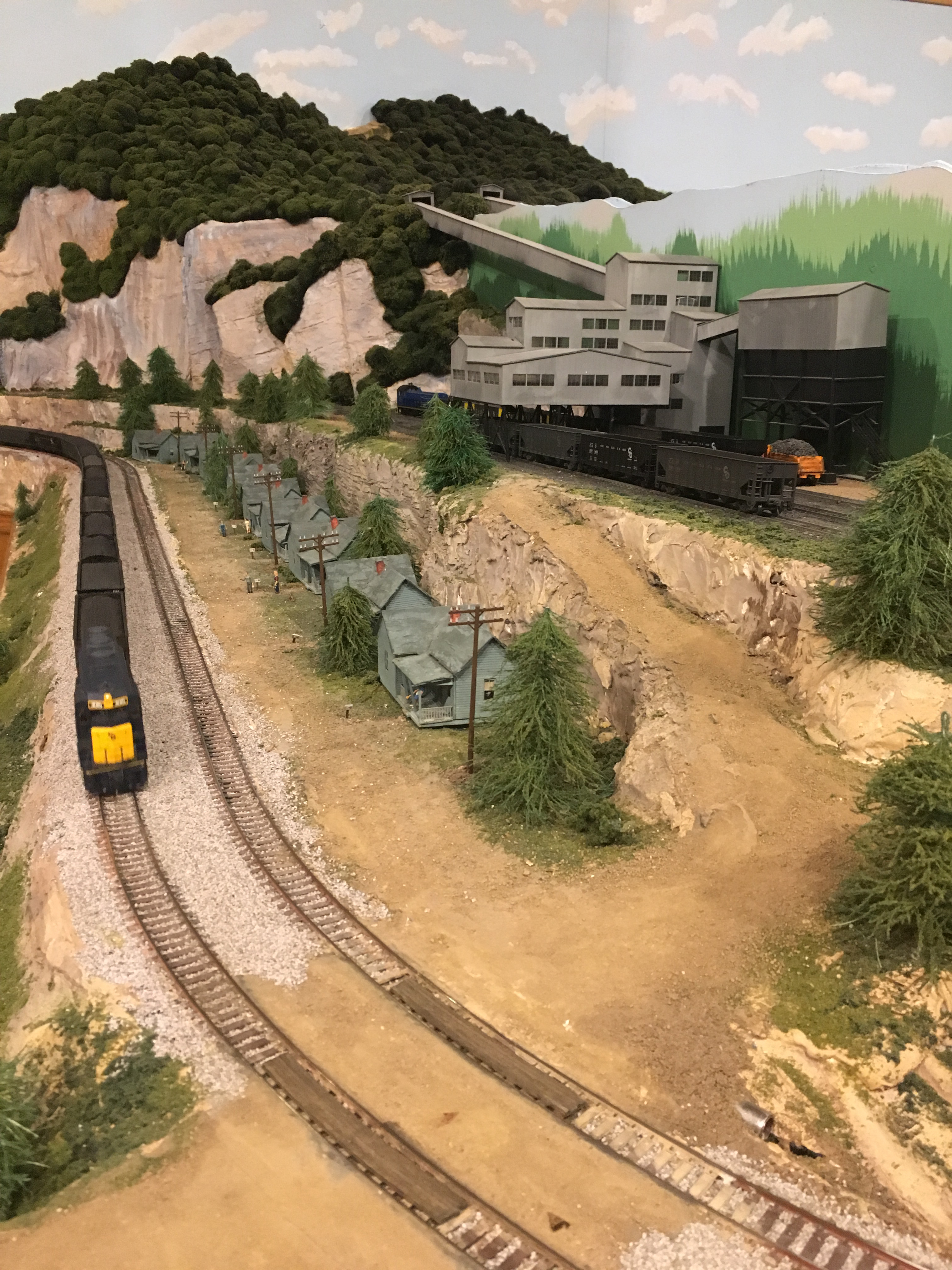 Coal mines, coal company towns, and railroads were built in close proximity to each other so that the coal could be easily mined and transported across the country.