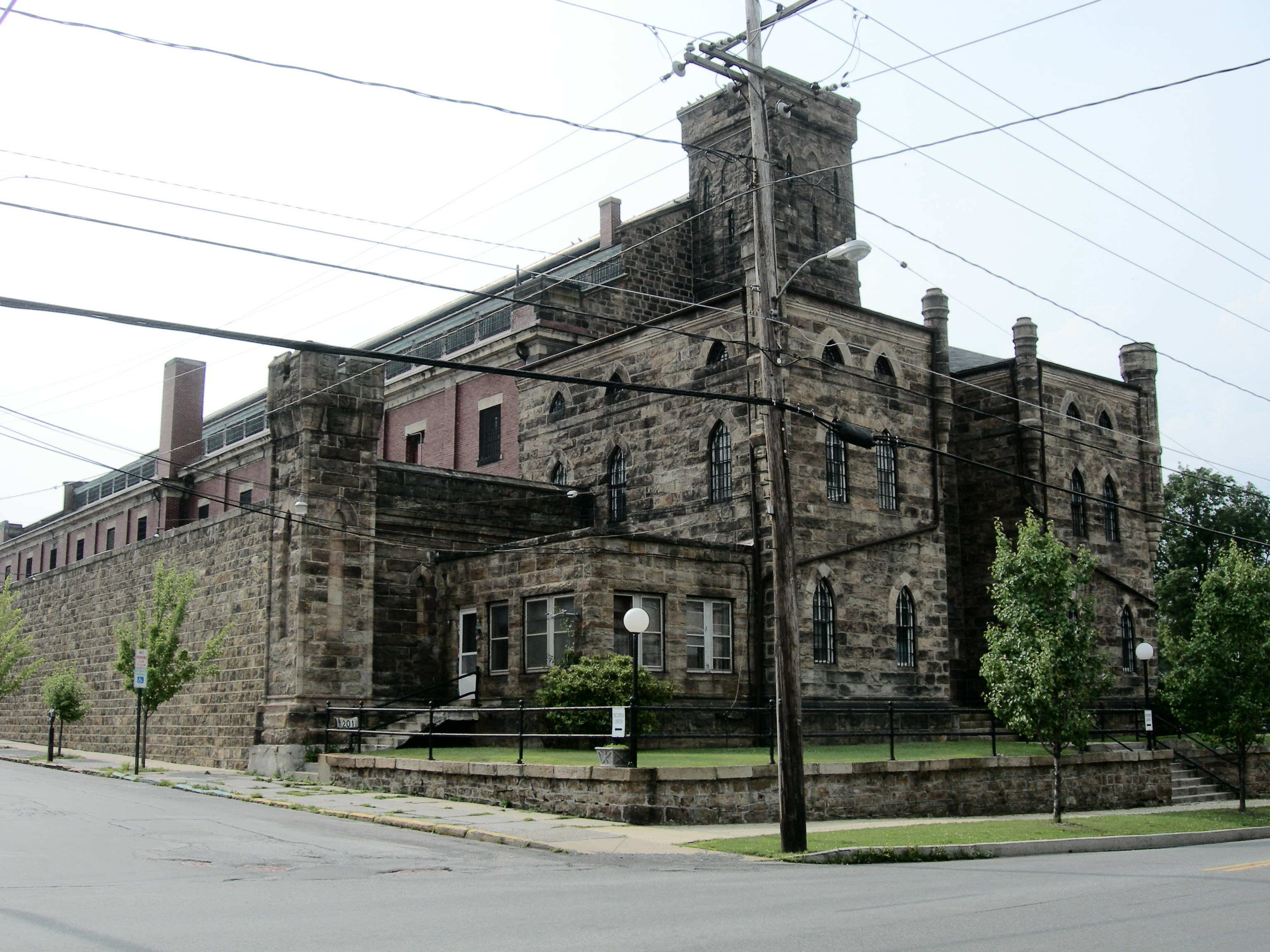 The Old Lycoming County Jail has occupied this location since 1868.