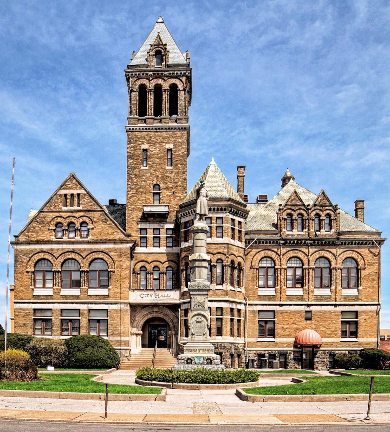 Williamsport's Old City Hall was completed in 1894.