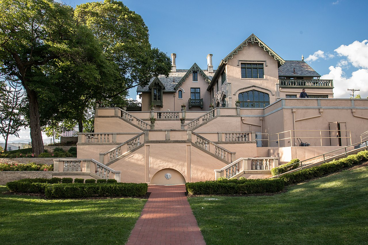 The Fowler House was built in 1852 and is one of the finest examples of Gothic Revival architecture in the United States.