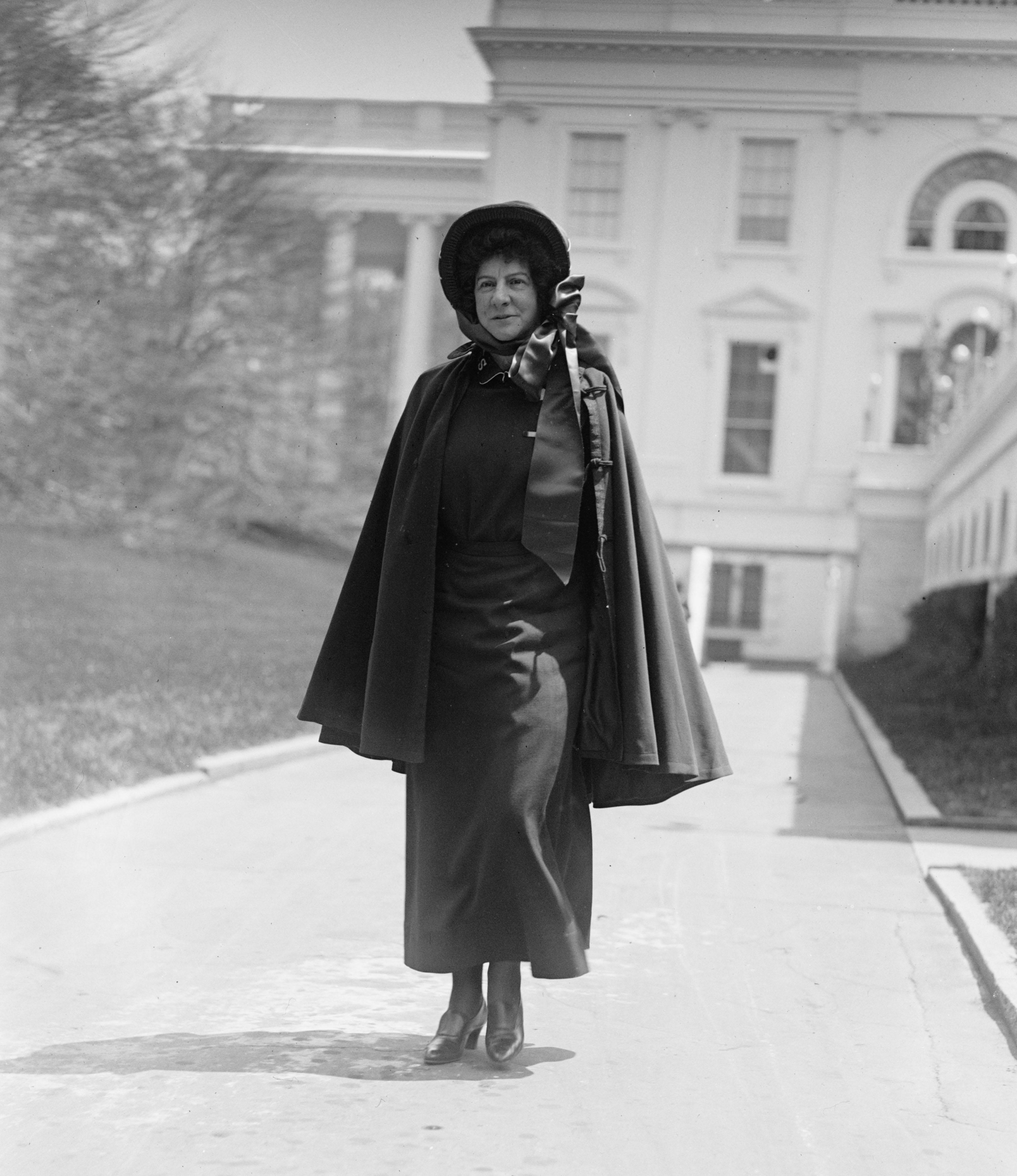 Evangeline Booth in Washington, D.C., 1924.