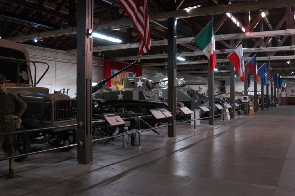 The Texas Military Forces Museum opened in 1992 and features numerous Texas military-related items and equipment on display.