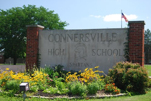Connersville High School Sign