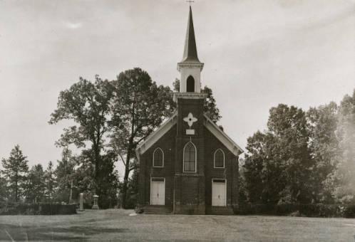 Fulton Methodist Church circa 1969 Credit: Digital Davie