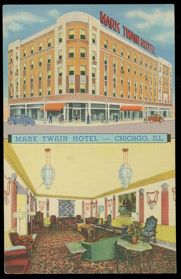 1940 Postcard, Front View