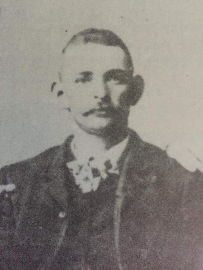 Elmer Brubaker circa 1885.
