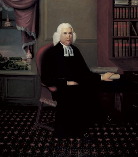 One of the few portraits Rev. Steward actually managed to sell before his museum curator career took off. The portrait is that of Eleazar Wheelock, Dartmouth College founder.