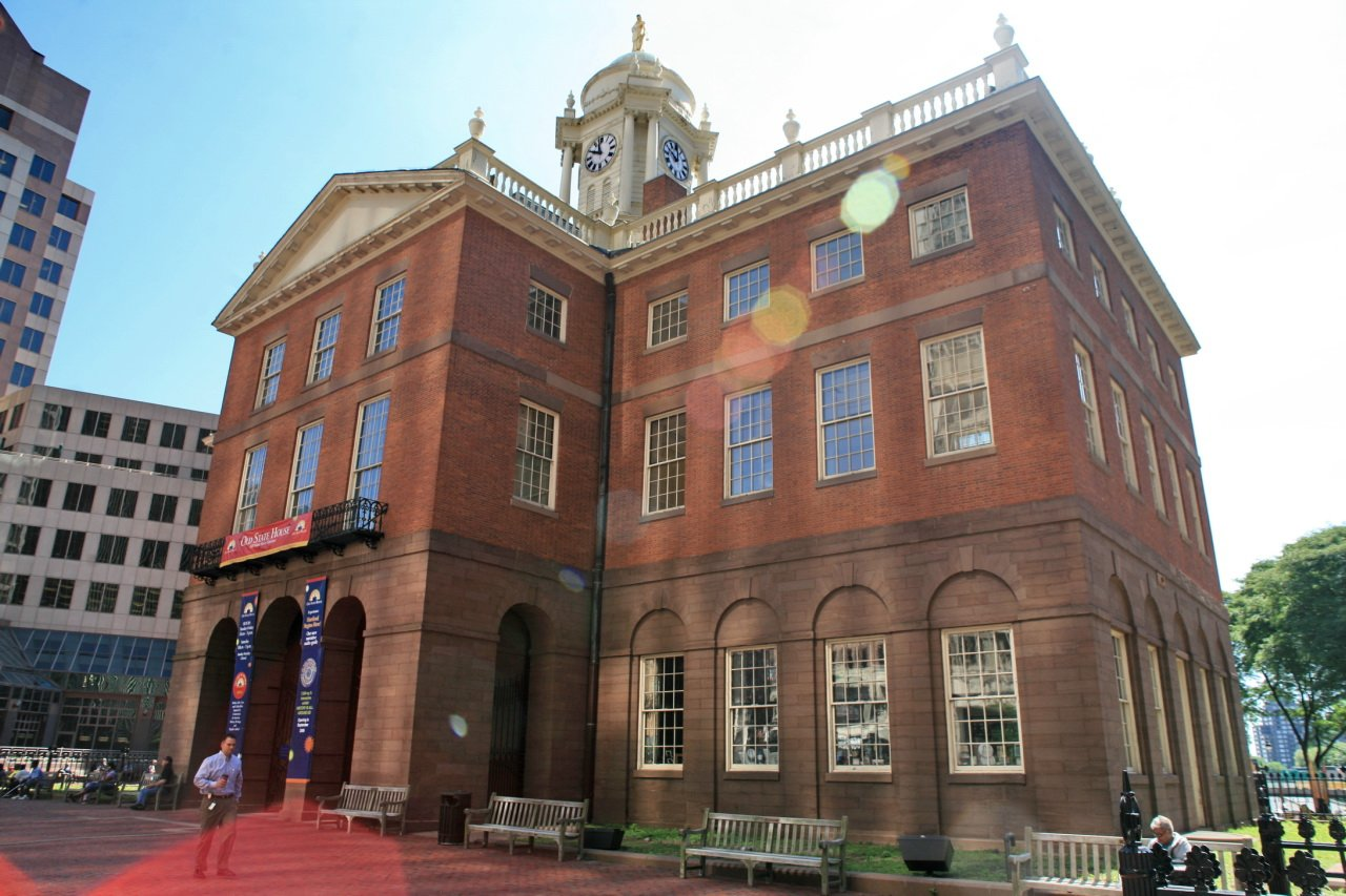 The Old State House, home to the Museum of Natural & Other Curiosities.