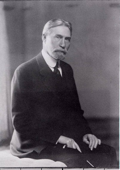 Another photo of Andrew B. Hammond in 1930, towards the end of his life. Image courtest of mtmemory.org.