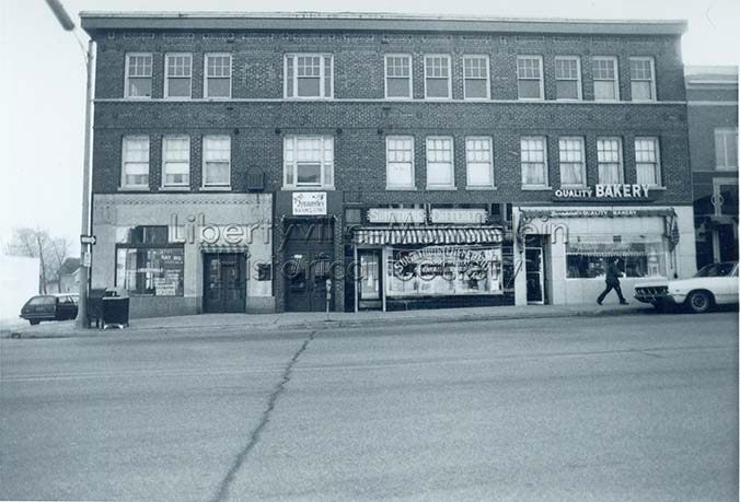 536-542 North Milwaukee Avenue, circa 1974-1976