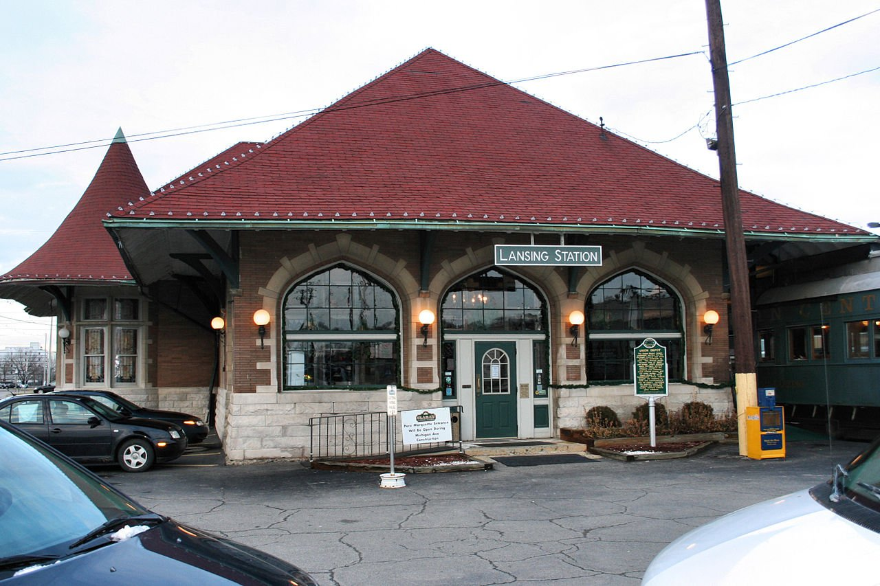 The Union Depot building was constructed in 1908. It became the home of the popular restaurant called Clara's Lansing Station from 1978-2016.