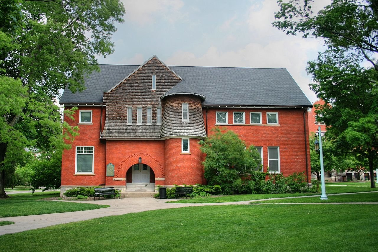 Eustace–Cole Hall was built in 1888 and is listed on the National Register of Historic Places.