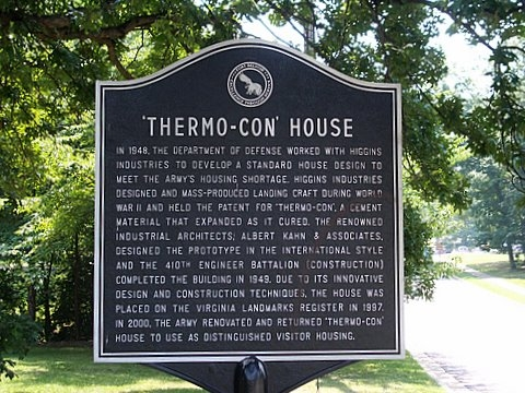 Thermo-Con House Marker by Tom Troy (reproduced under Fair Use)