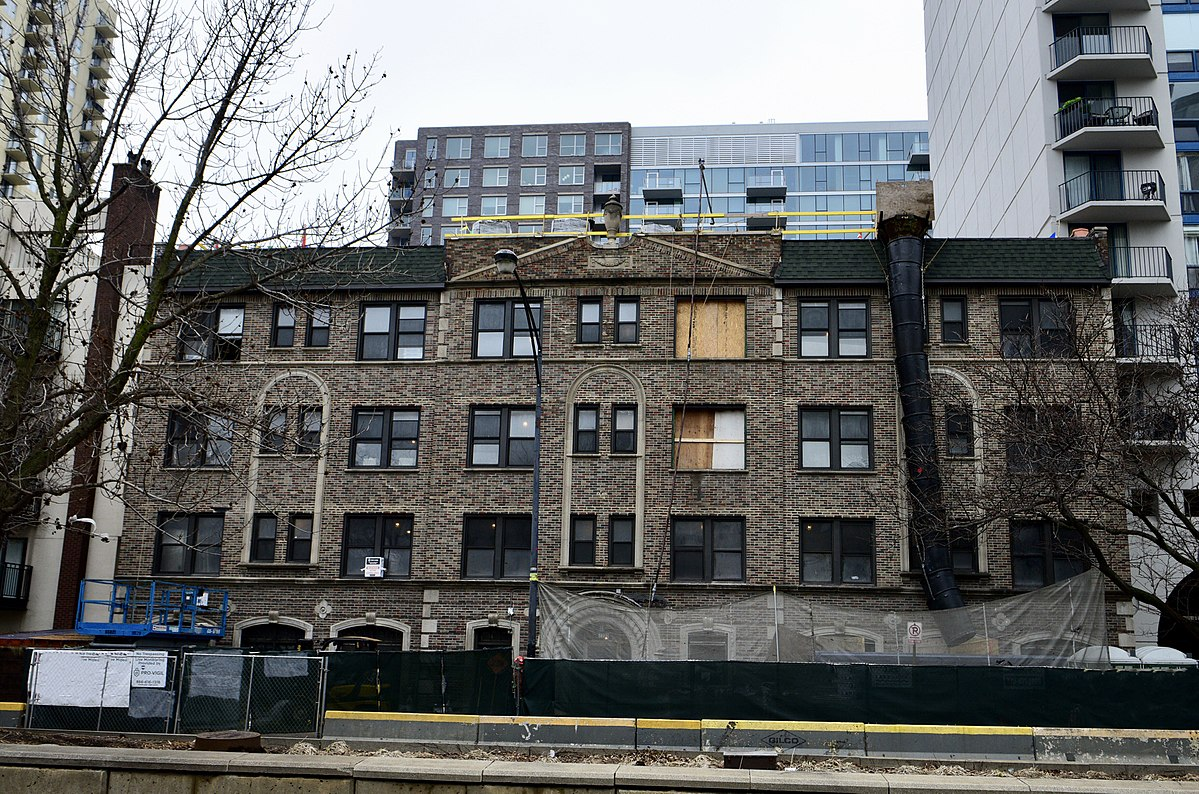 The Marshall Hotel is undergoing a renovation -- will soon offer 90 affordable apartments.  Picture taken in 2018.