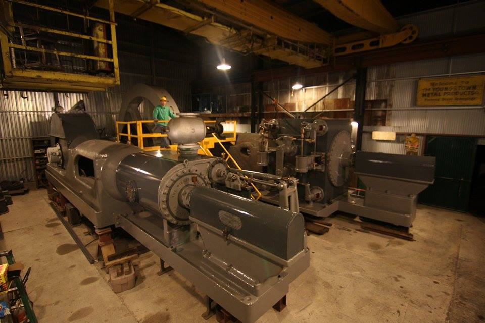 The Tod Engine is a 3,000 HP rolling mill steam engine built and used in Youngstown.