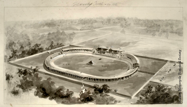 Newby Oval Race Track