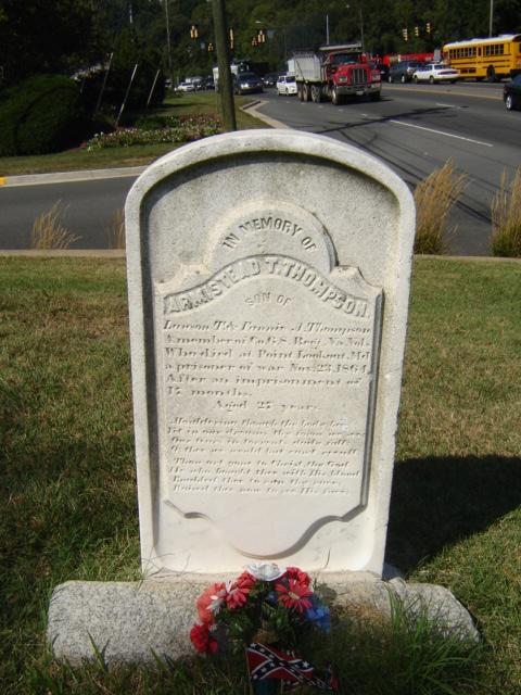 """""""Armistead Thompson 1838- 1864"""" by FCCPA-VA on Flickr. Reproduced under Fair Use."""