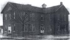 Proctorville School, built in 1879, now demolished.