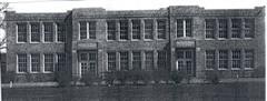 Rome Rural High School, built in 1925, demolished in 1968.