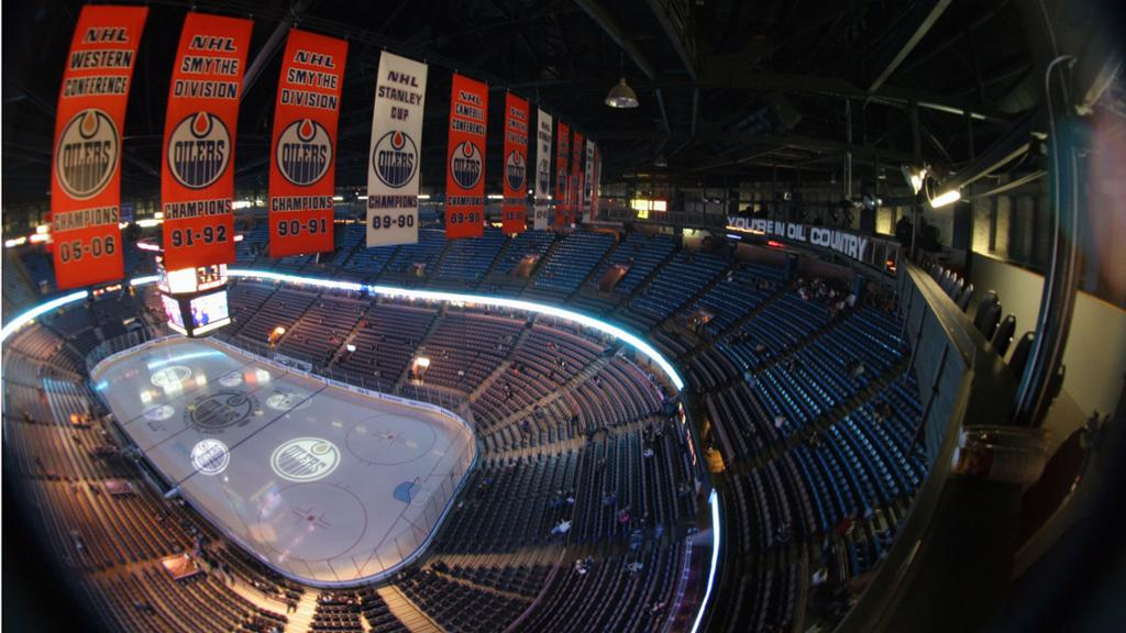 Inside Rexall Place