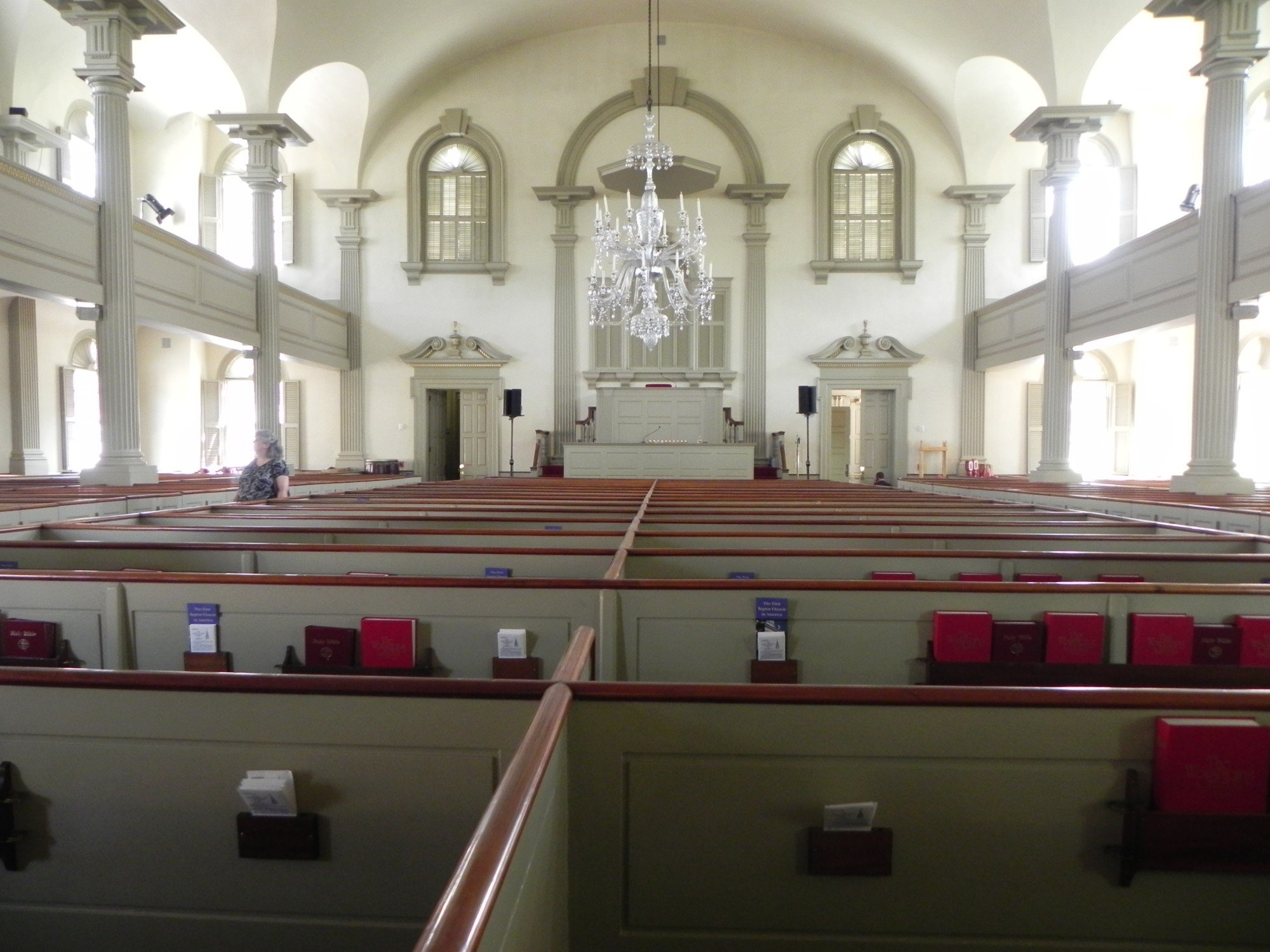 2012 Picture of the church building's inside.