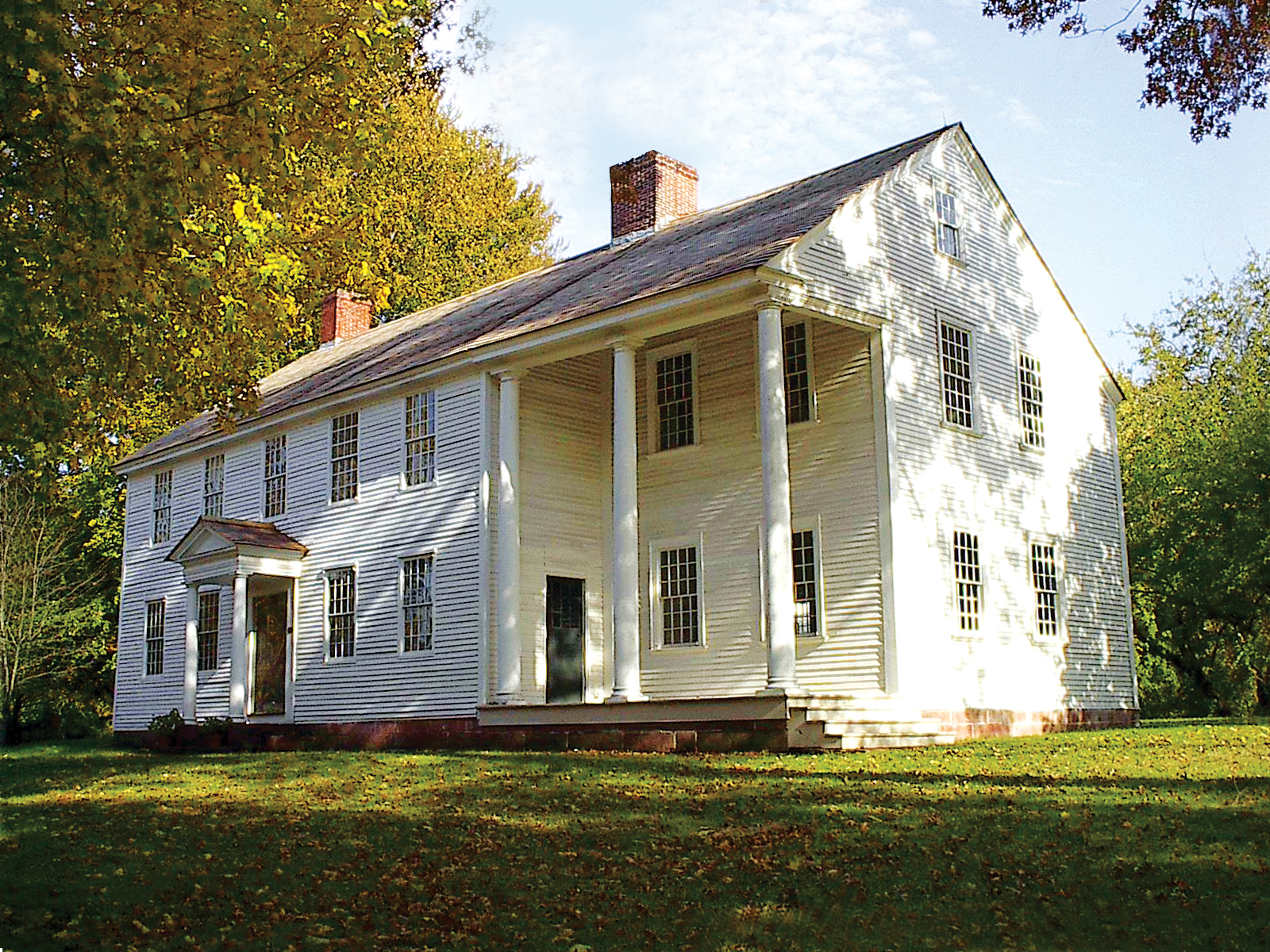 The Oliver Ellsworth Homestead was home to the third Chief Justice of the United States Supreme Court.