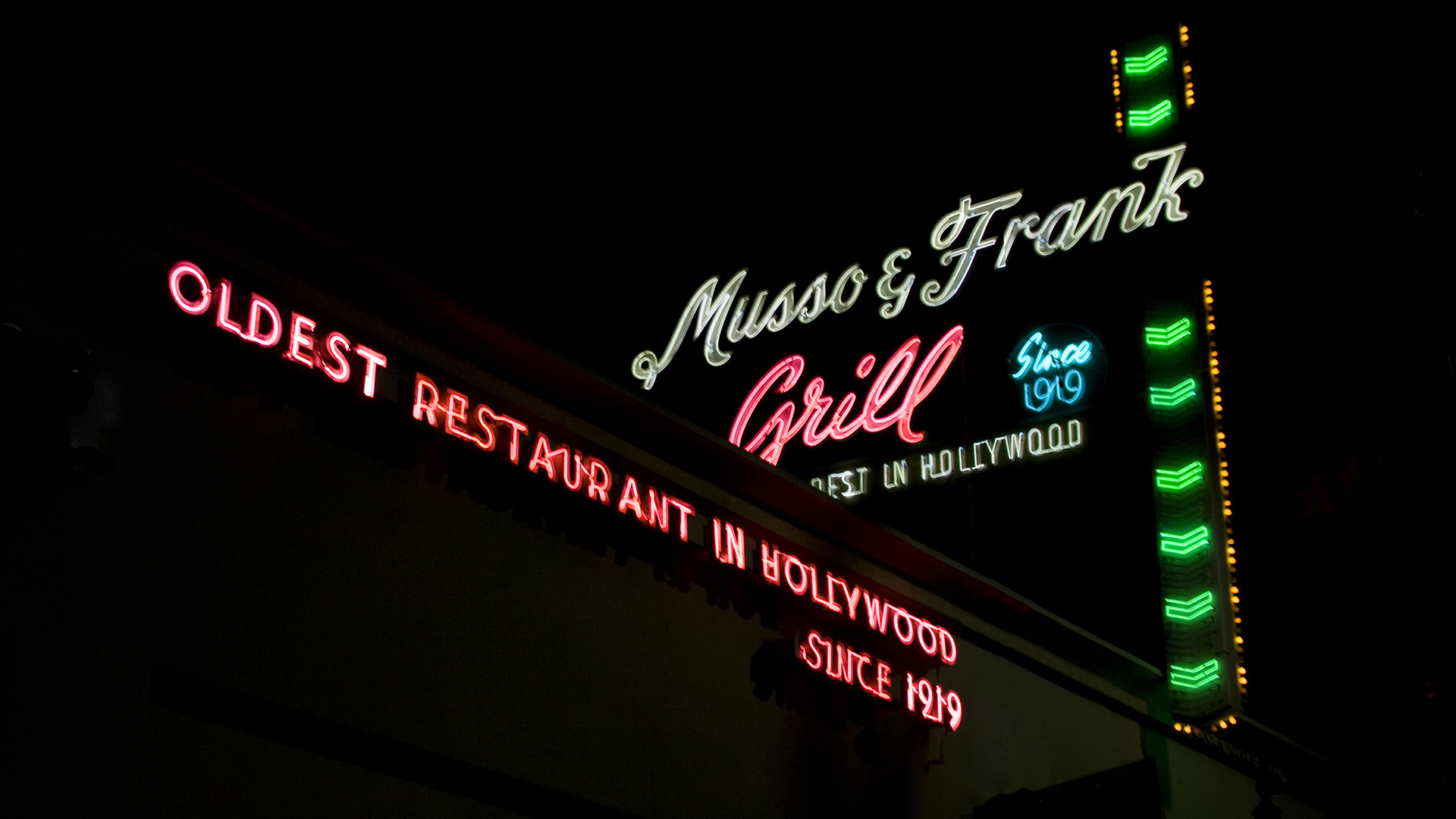 Musso and Frank Grill on Hollywood Blvd.
