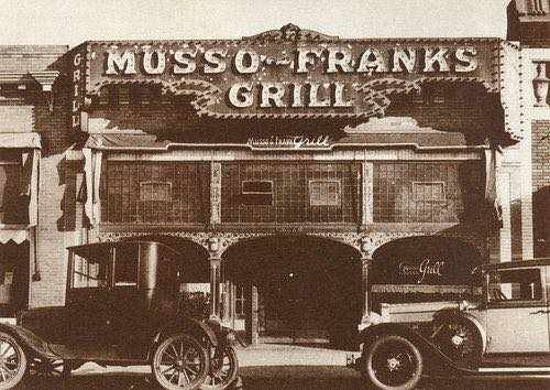 Musso and Frank in the 1920s