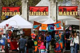 Portland Saturday Market has grown since its inception in 1976 and operates as a food and craft open-air marketplace