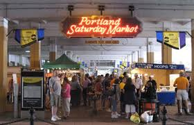 Portland Saturday Market operates as a public benefit corporation where members earn profits and agree to operate the business in a manner that benefits the city and its artisans.