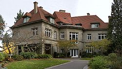 Pittock Mansion was completed in 1914, five years after construction started. It was added to the National Register of Historic Places for its outstanding architecture.