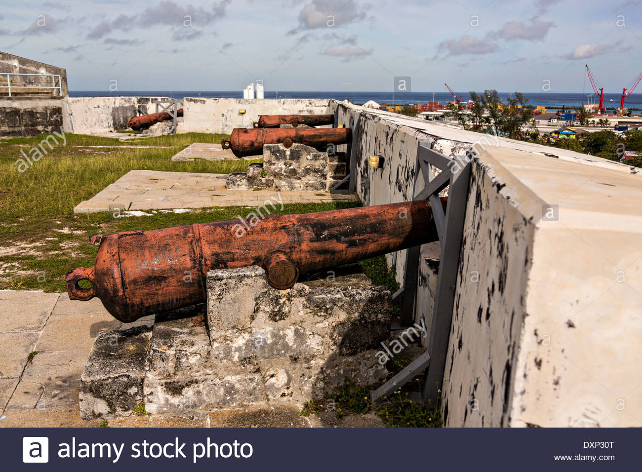 Cannons in the fort