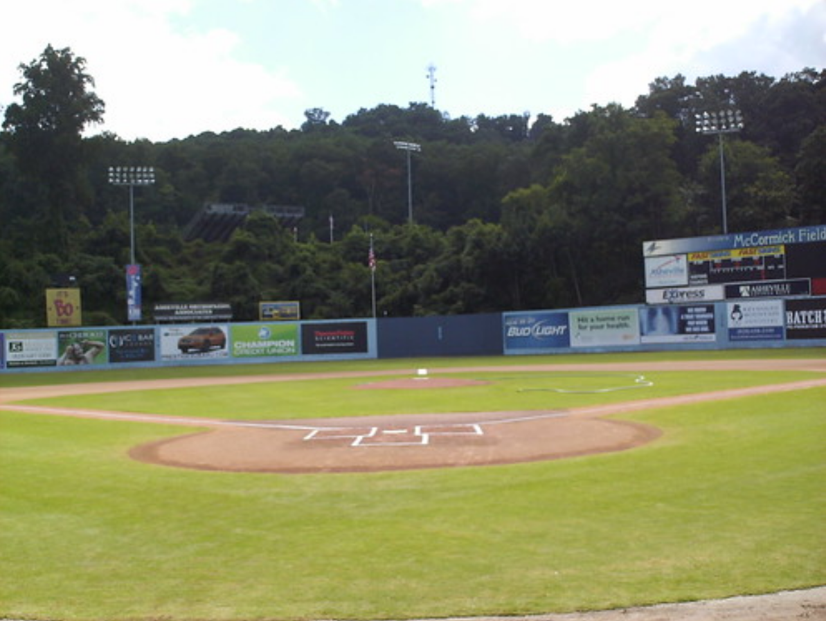A view of McCormick Field