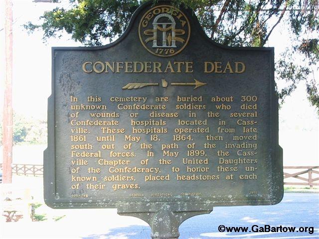 Confederate Dead Marker