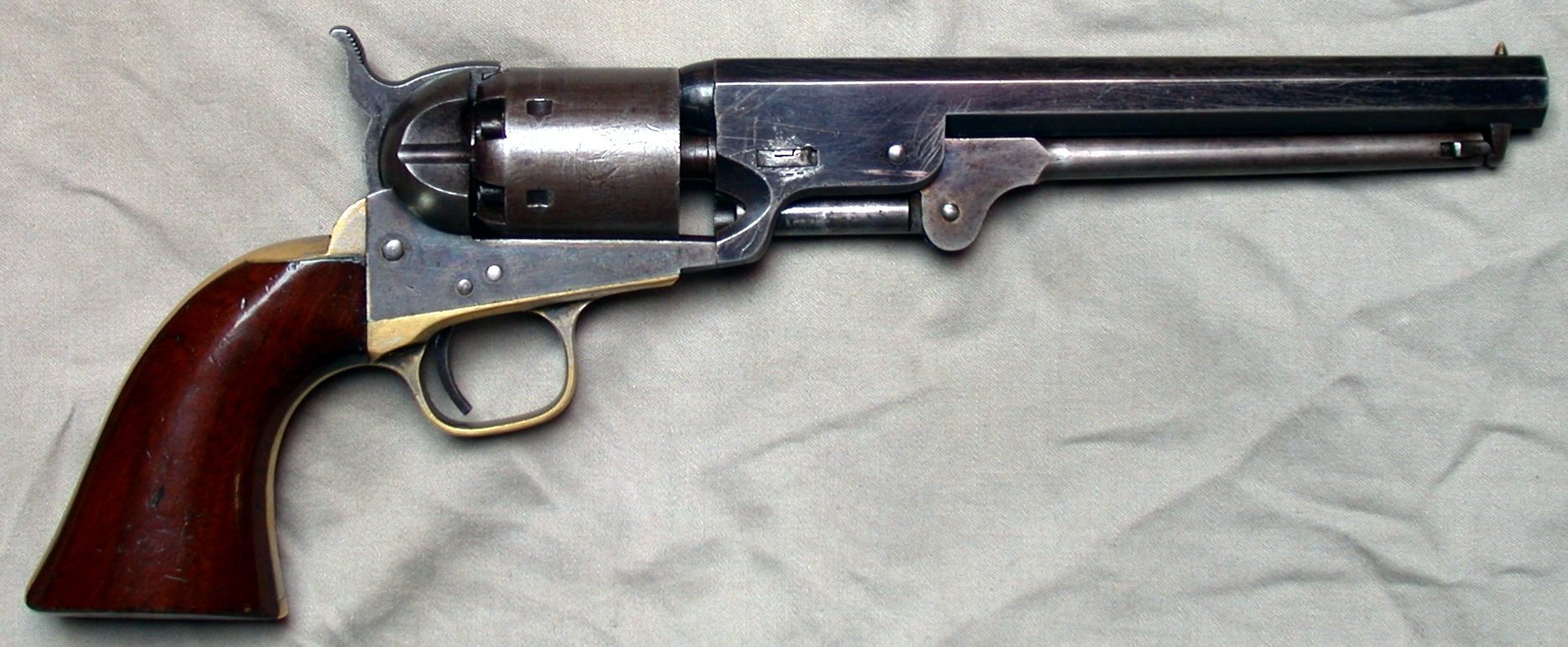 The Colt 1851 Navy, a sidearm much favored by the...oops, Confederate Army (as well as Union troops).
